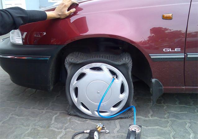 Азот в шины