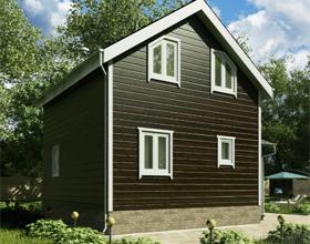 Щитовые дома: плюсы и минусы