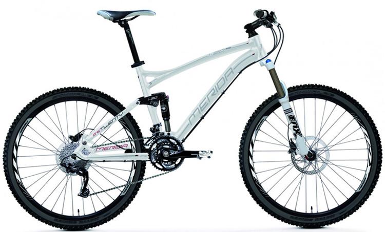 Двухподвесный велосипед