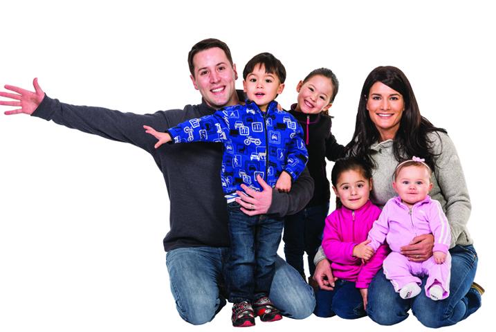 Семья и много детей