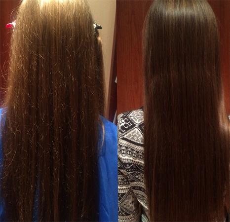 Полированные волосы