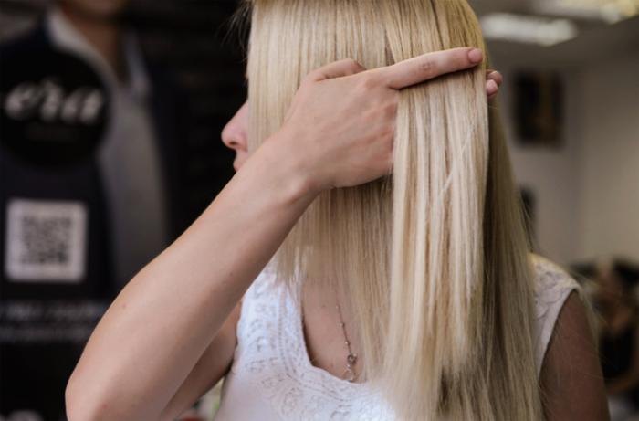 Волосы полированные