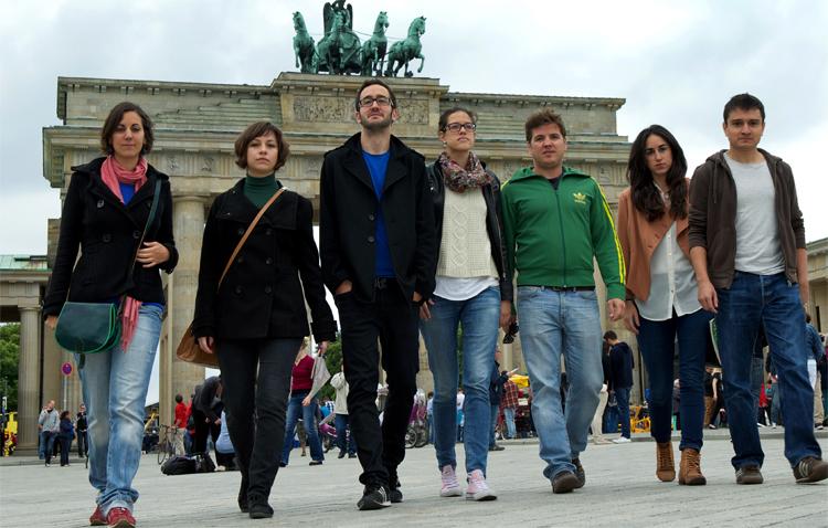 Молодые люди в Испании