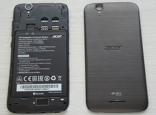 Несъемный аккумулятор в смартфоне