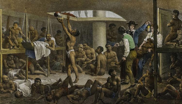 Рабы в колониальной империи