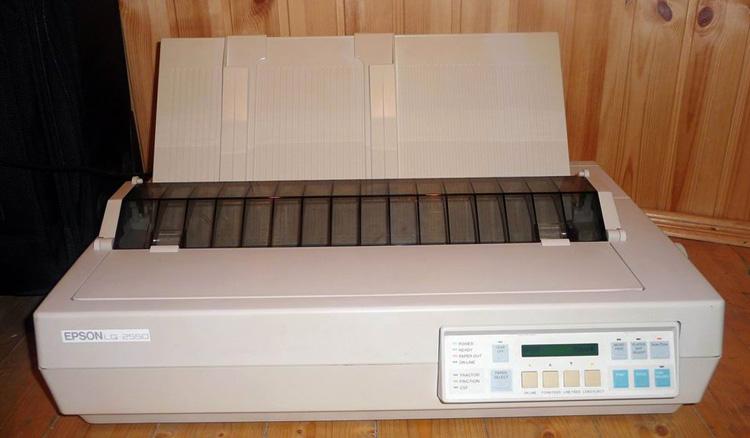Цветной матричный принтер
