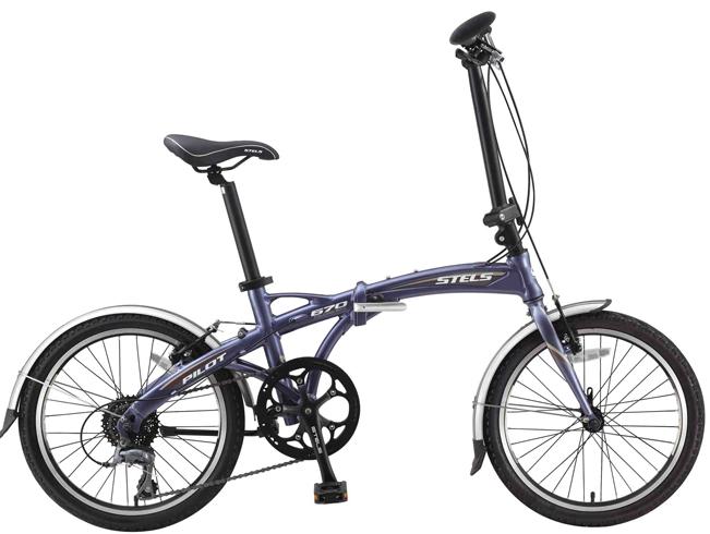 Новый складной велосипед