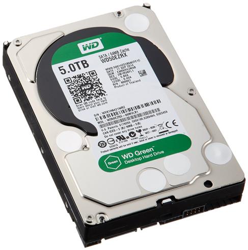Гибридный жесткий диск на 5 GB