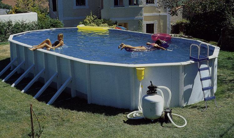 Сезонный каркасный бассейн