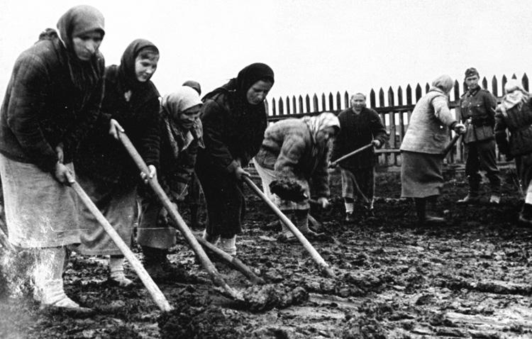 Женщины во время коллективизации