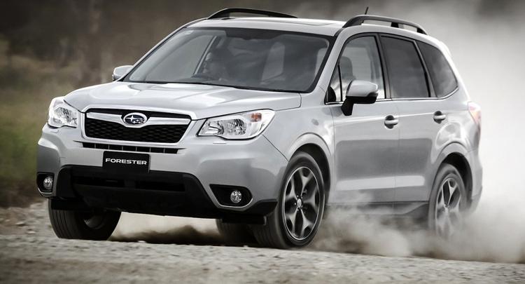 Красивый Subaru Forester