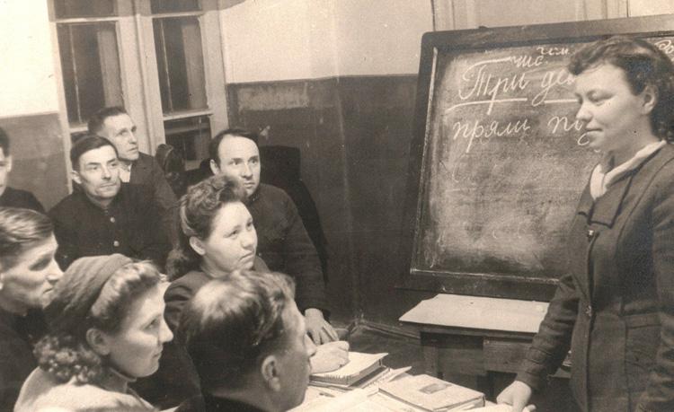 Образование при Сталине