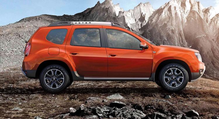 Оранжевый Renault Duster