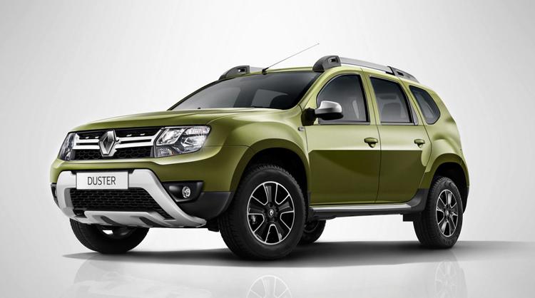 Зеленый Renault Duster
