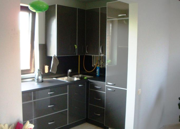 Новый встроенный холодильник