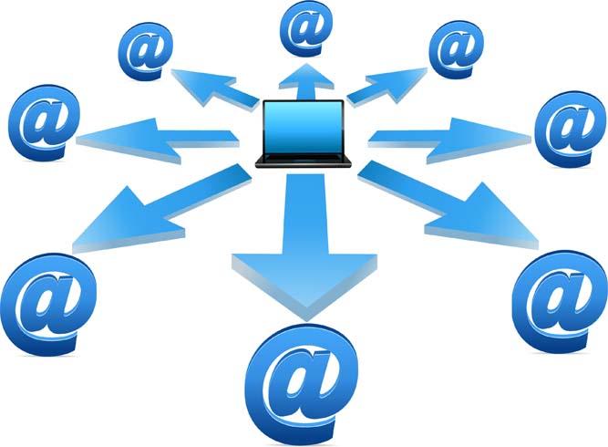 Работа электронной почты