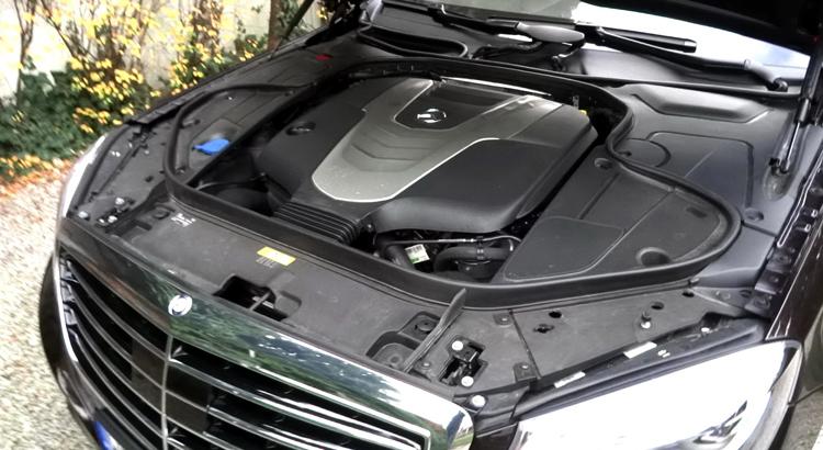 Дизельный двигатель на мерседесе