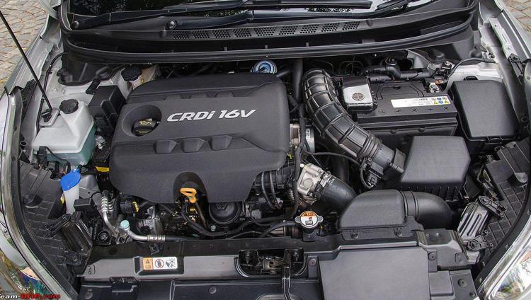 Автомобиль с дизельным двигателем