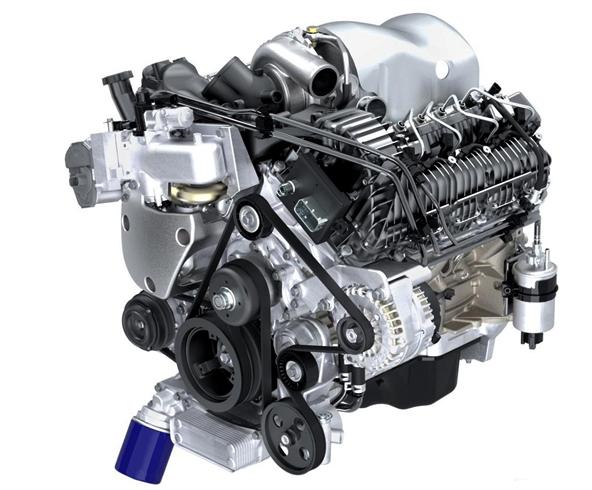 Как выглядит дизельный двигатель