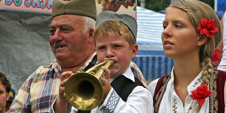 Люди Сербии