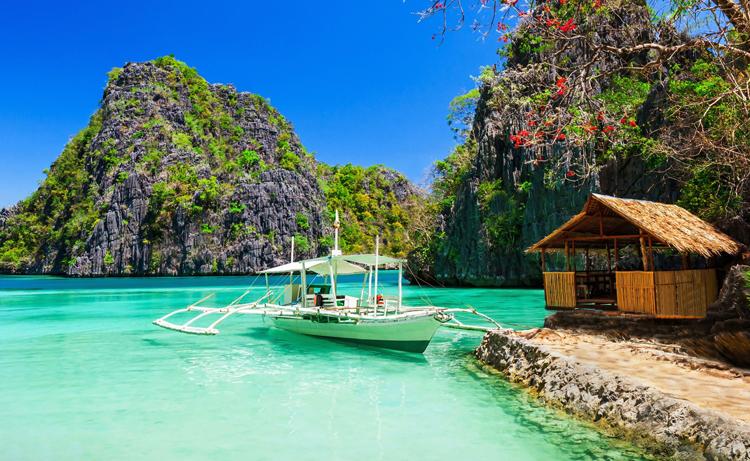 Остров на Филипинах
