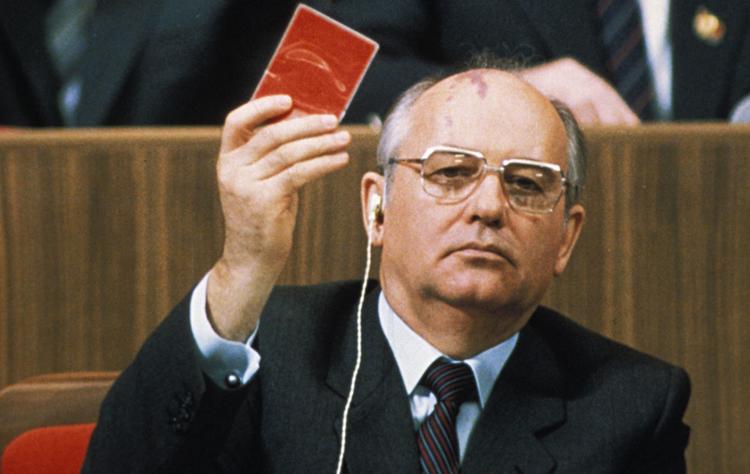 Горбачев у власти