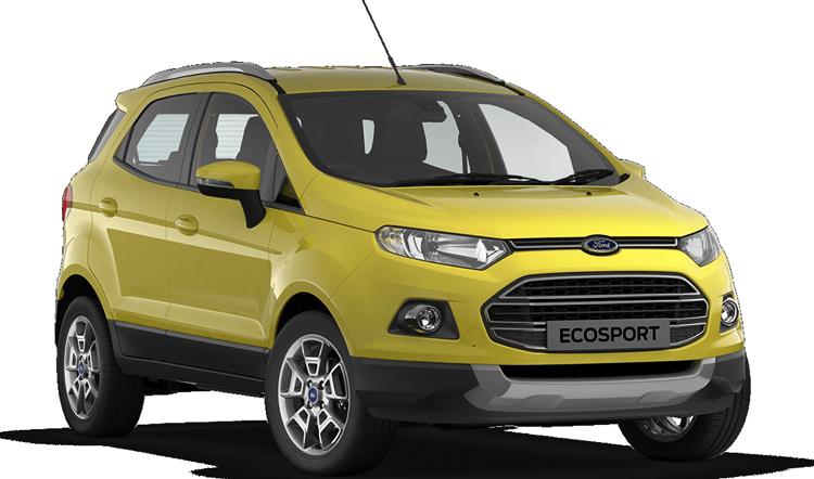 Красивый Ford EcoSport