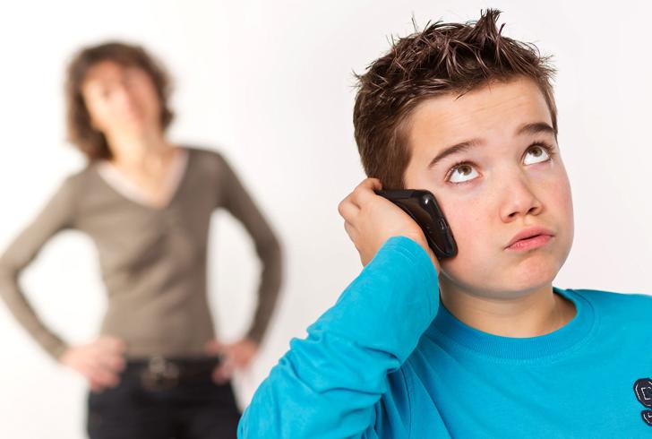 Неуверенный подросток