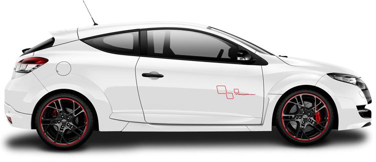 Белая машина