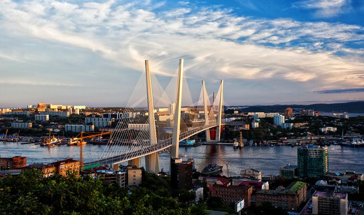 Вид на Владивасток