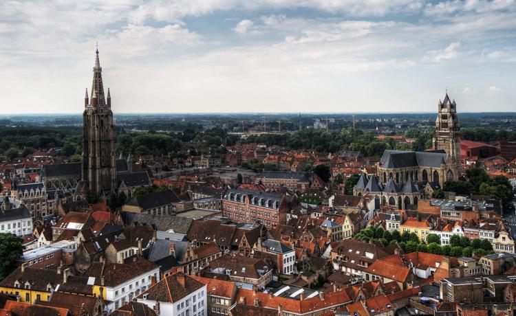 Город Бельгии