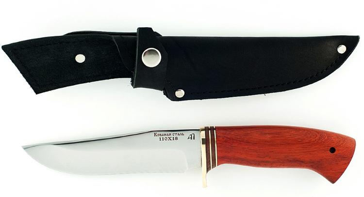 Красивый нож 110х18
