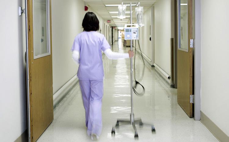 Медсестра в больнице