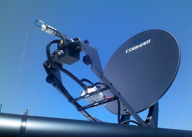Работа спутникового интернета