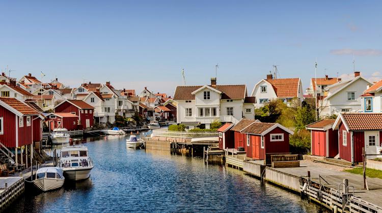Красивая Швеция