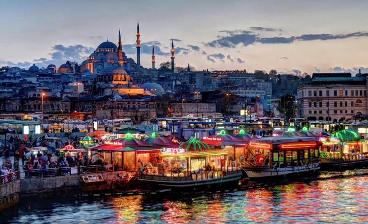 Красивая столица Турции