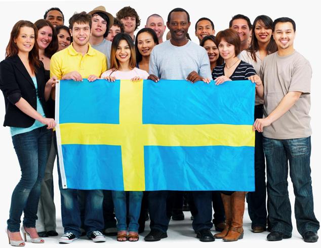 Люди в Швеции