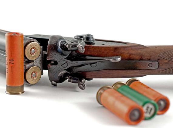 Ружье 20-го калибра на охоте