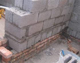 Плюсы и минусы строительства бани из шлакоблоков