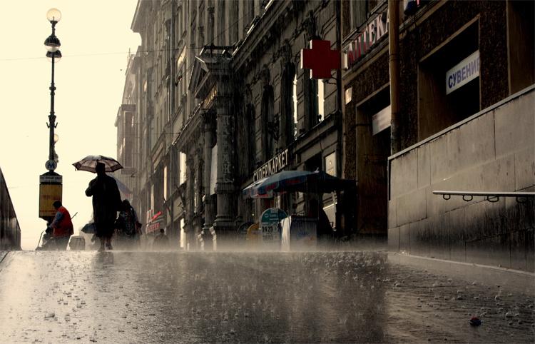 Дождь в Питербурге