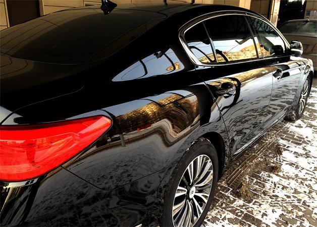Авто с керамическим покрытием