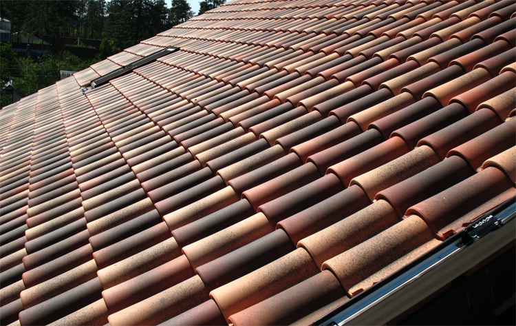 Черепица на крыше