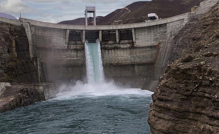 Одна из ГЭС