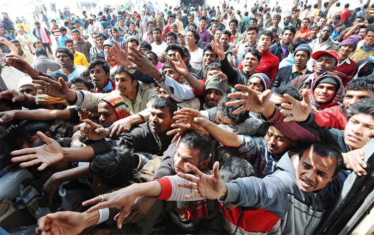 Мигранты с ближнего востока