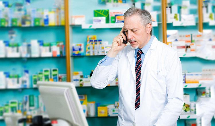 Фармацевт звонит
