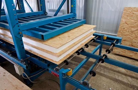 Производство сип-панелей