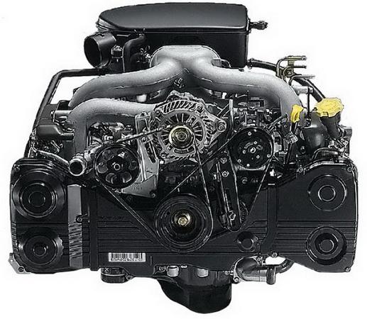 Оппозитный двигатель Subaru