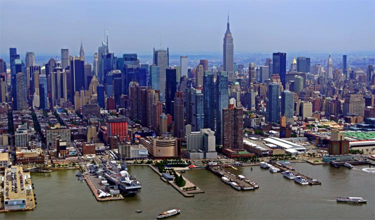Город в США