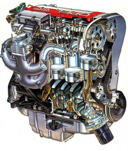 DOHC двигатель