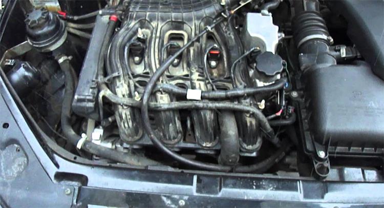 Двигатель 21126